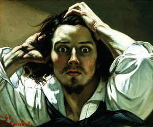 gustave courbet, painting, and art image