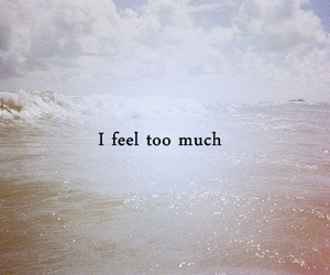 feel, quote, and feelings image