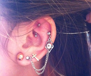 piercing, style, and cool image