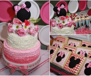 cake, ideas, and minnie mouse image