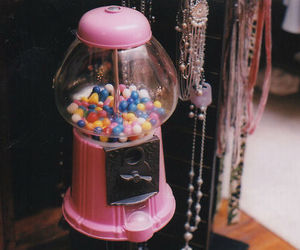 vintage, candy, and pink image