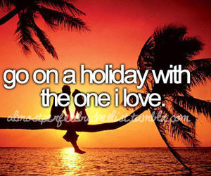 love, holiday, and bucket list image