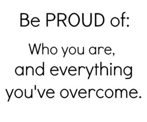 quote, proud, and life image