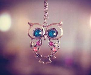 owl and necklace image
