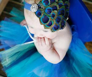baby, peacock, and cute image