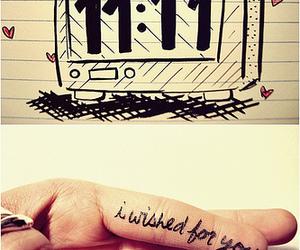 wish, 11:11, and make a wish image