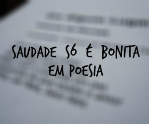 poesia, saudade, and love image