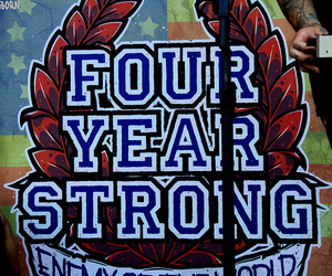 four year strong image