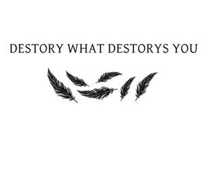destroy, quote, and text image