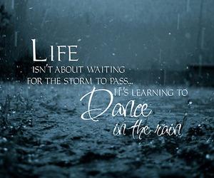 rain, dance, and life image