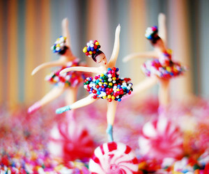 candy, sweet, and ballet image
