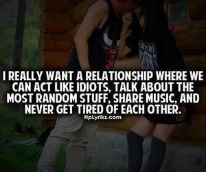 Relationship, quote, and couple image