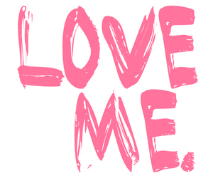 love, pink, and love me image