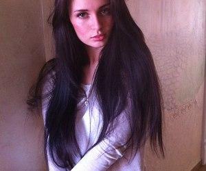 girl, hair, and kristina makienko image