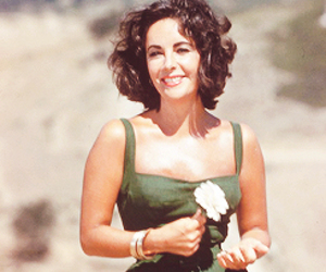 Elizabeth Taylor and beauty image