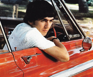 the beatles, car, and george harrison image