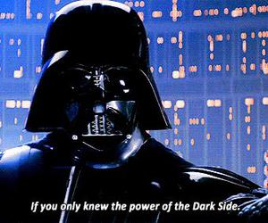 star wars, darth vader, and gif image