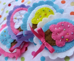 candy, colors, and felt image