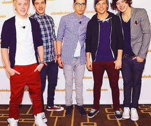 louis, the boys, and horan image