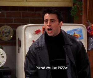 pizza, friends, and Joey image