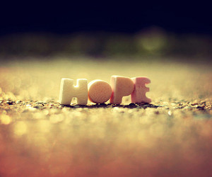 hope and quote image