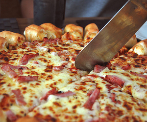 pizza, food, and photography image