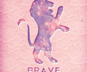 animal, brave, and leon image