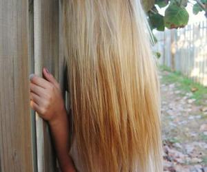 hair, long hair, and pink image