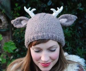 antlers, cool, and girl image