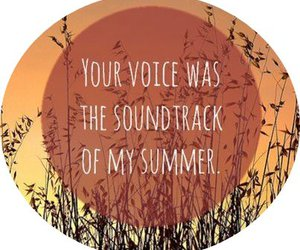 music, summer, and love image