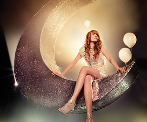 florence welch, sparkle, and glitter image