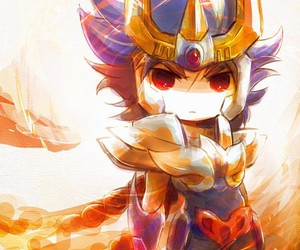 chibi, ikki, and anime image