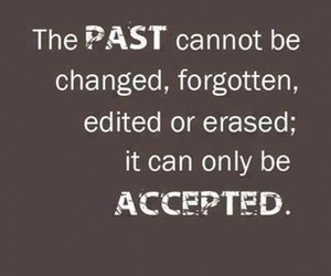 quote, past, and life image