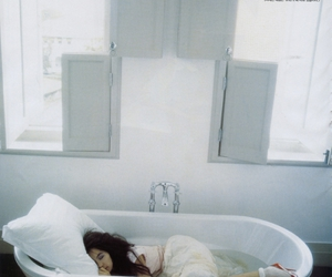 girl, bathtub, and photography image