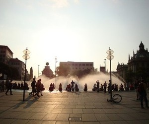 fountain, germany, and stachus image