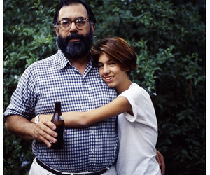 Francis Ford Coppola and sofia coppola and father image