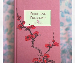 book, jane austen, and pink image