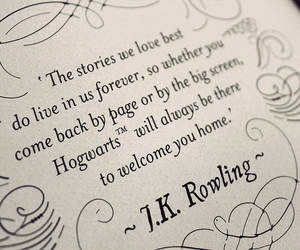 harry potter, quote, and rowling image