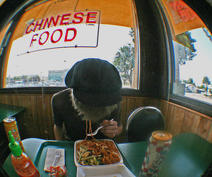 boy, chinese food, and food image
