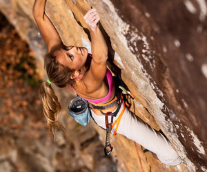 climbing, fitness, and girl image