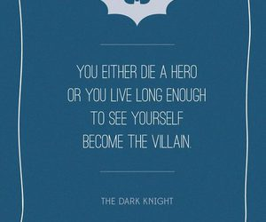 batman, quote, and hero image
