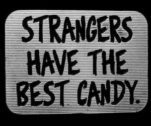 black and white, vintage, and candy image