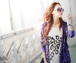 fashion, glasses, and purple image
