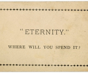 doubt, typography, and eternity image