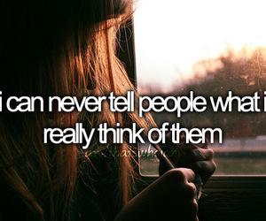 people, think, and never image