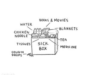 book, medicine, and movies image