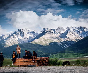 landscape, tibet, and youth image