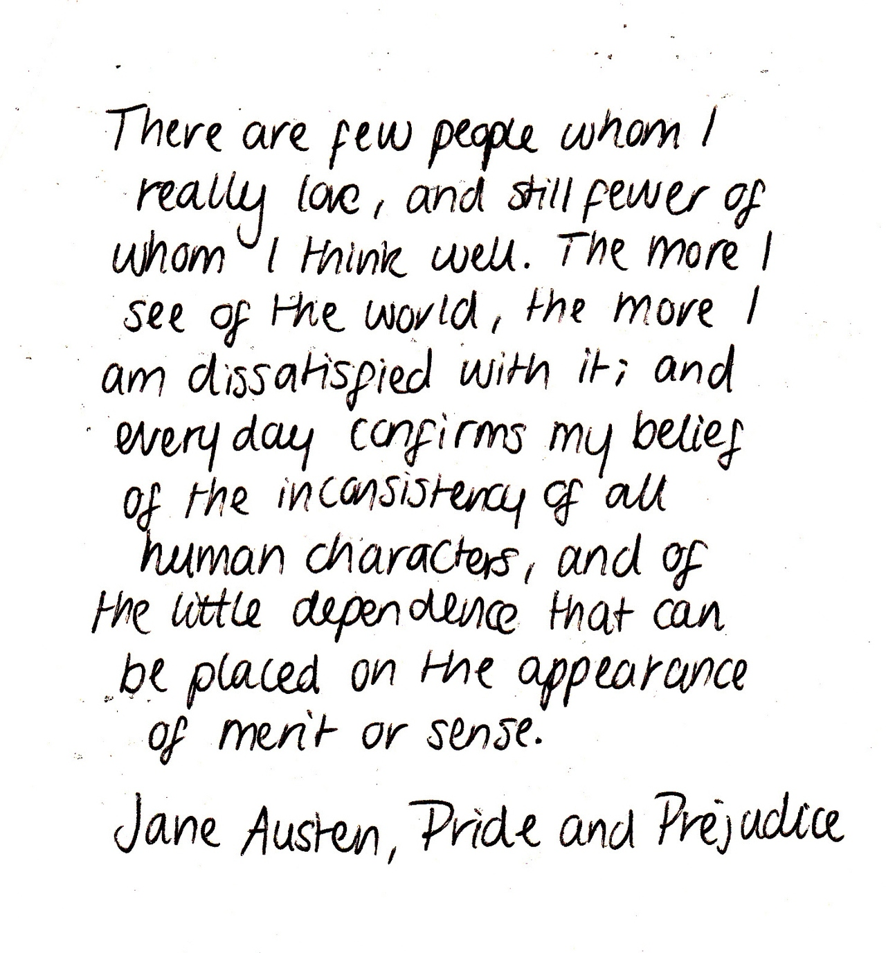 Quotes Jane Austen White Paper Quotes Uploadedtenerife Sea On We Heart It