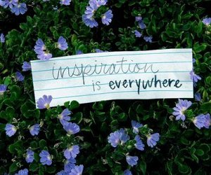 inspiration and flowers image