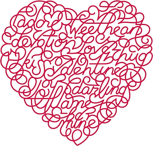 heart, love, and valentine image